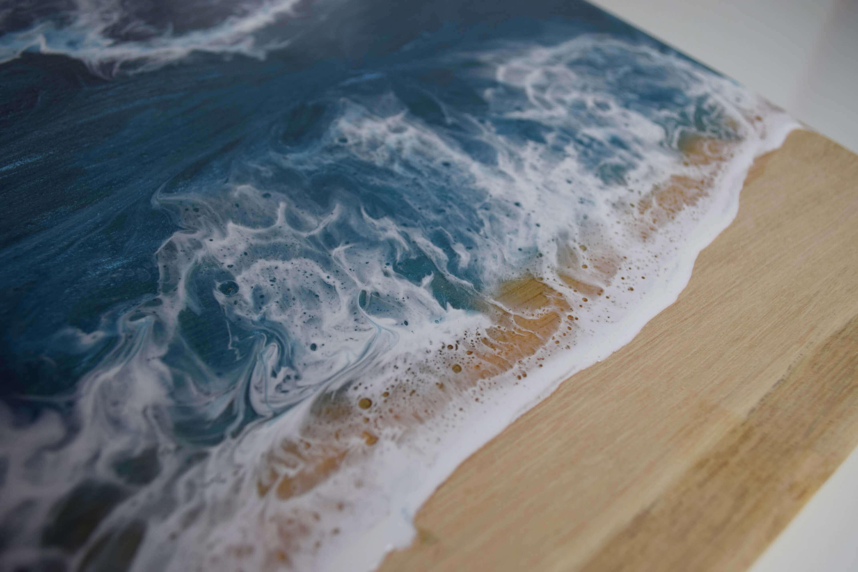 Epoxidharz Tisch Meer